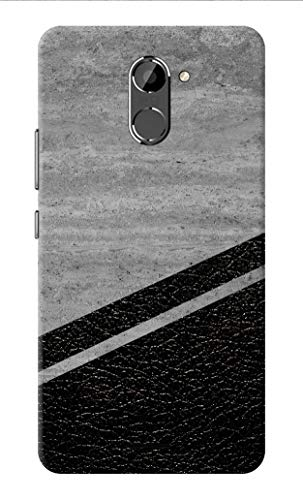 Oye Stuff Marble Printed Designer Slim Hard Back Cover Case for Infinix Hot 4 Pro