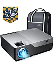 "VANKYO Performance V600 Native 1080P LED Projector, 4000 Lux Dual HDMI Projector with 300"" Display Widescreen for Power Point Presentation Education & Business Applications"