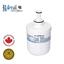 Samsung DA29-00003G, DA29-00003B, DA29-00003F, DA29-00003A, and HAFCU1 replacement water filter by Royal Pure Filters RPF-DA29-00003B (1 Pack)