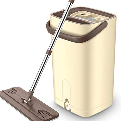 Wet Mops Clean and Dry The Mop and Bucket Cleaning System Wet Mops (Color : C)