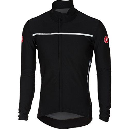 (Castelli Perfetto Long-Sleeve Jersey - Men's Light Black, XL)