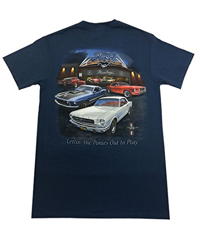 Joe Blow Men's Ford Mustang Showroom T-Shirt-small