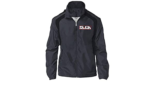 Wheel Spin Addict Mens Coyote 5.0 Ford Mustang S550 S197 Jersey-Lined Jacket