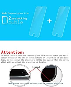 imak HUAWEI MATE 8 Anti-burst Tempered Glass Screen Protector Guard Cover Protective Film -2PCS PACK