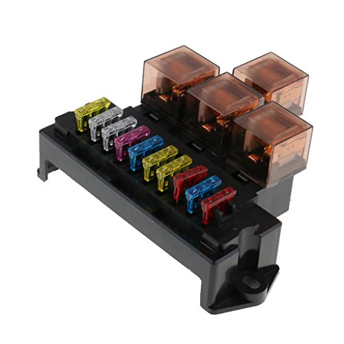 Jili Online Car Engine Compartment Fuse Box Relay Junction Socket Holder Safety Accessories