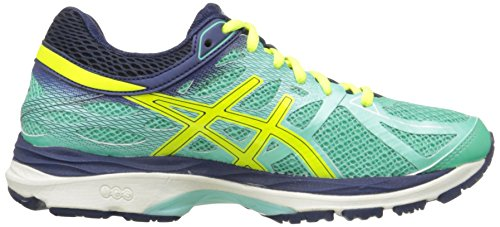 Asics Gel-Cumulus 17 Zapatilla de Running de la mujer Aqua Mint/Flash Yellow/Navy