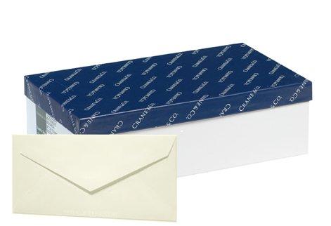 (Cranes Crest NIP Natural White Wove 24# #10 Envelope 500 Envelopes)