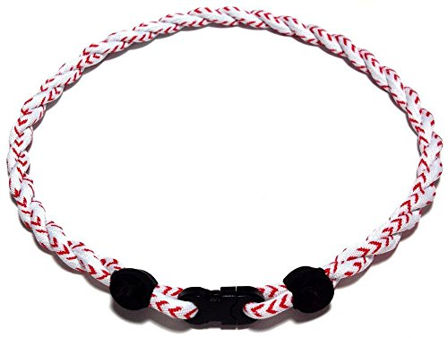 S'beauty 2 Rope Titanium Sports Tornado Necklace 18