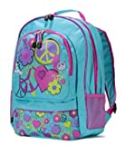 Graffiti Love Backpack Turquoise