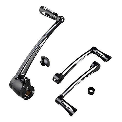 - Set Brake Arm Peg Pedal + Rear Shift Levers Shifter Peg Compatible with 2014-2017 Harley Touring FLH FLT