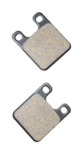 CNBK Front Brake Pad Resin for DERBI Street Bike 50 Savannah 91 &up 1991 &up 1 Pair(2 Pads)