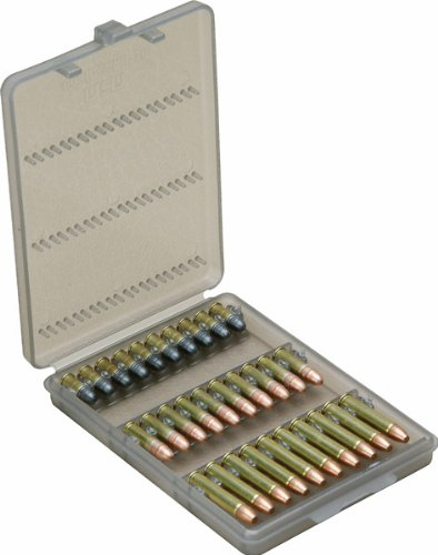 MTM 30 Round 22 Caliber Ammo Wallet (Clear Smoke)
