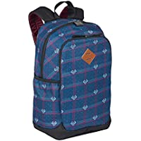 Mochila Sestini Magic Xadrez Feminina Notebook Azul Escolar Anti Furto Roubo 075517-72