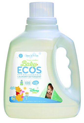 Earth Friendly Products Baby Ecos Free and Clear Disney Laundry Detergent, 100 Ounce (Pack of 2)