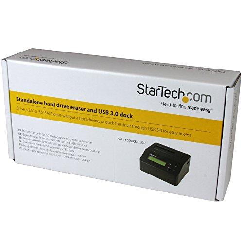 StarTech com USB 3 0 Standalone Eraser Dock for 2 5