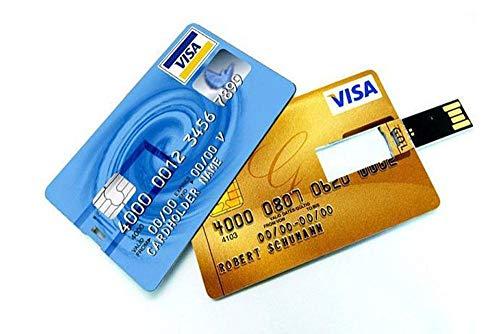 Mygiftmart Credit Card Shape 16 GB Pen Drive