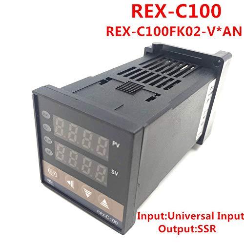 DN U7M5 Régulateur de température intelligent numérique PID REX-C100FK02-V