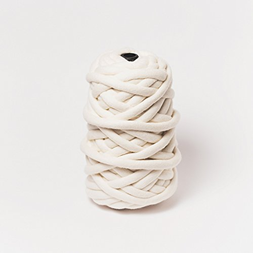 Chunky Merino Wool Yarn for Arm Knitting by Plump & Co (2.2 lb) Made in New Zealand, Premium Grade for Blankets, Throws, Rugs - 1 ply, (Free Knitting Patterns Chunky)