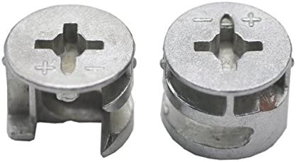 Furniture assembly hardware