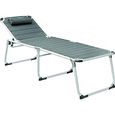 aussi longtemps de conservation–Stabielo–2x Chaises de camping + repose-pieds–105cm–7positions–Stabielo Exclusif Faut