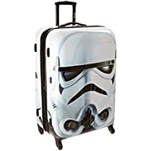 American Tourister Disney Star Wars All Ages Spinner, Storm Trooper, Checked – Large