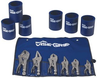 6 Pc. Vise Grip Set Plus 6 Can Coolers -2Pack by Irwin Tools
