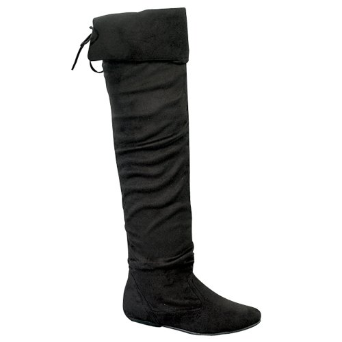 58 Hot Black TAMMY Forever Stylish High Pull Knee Women's Boots Casual Link Fashion On TAETqI