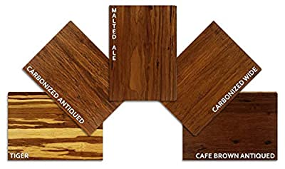 Hardwood Bamboo Flooring - 5 Color Sample Pack - Beguiling Browns by Ambient Bamboo