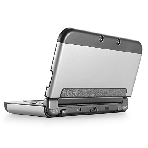 TNP New 3DS Case Silver Snap