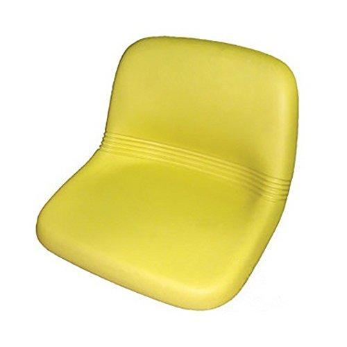 AM123666 Yellow Seat Made For John Deere F510, F525, F925, GX70, GX75, GX95, SRX75 by RAPartsinc