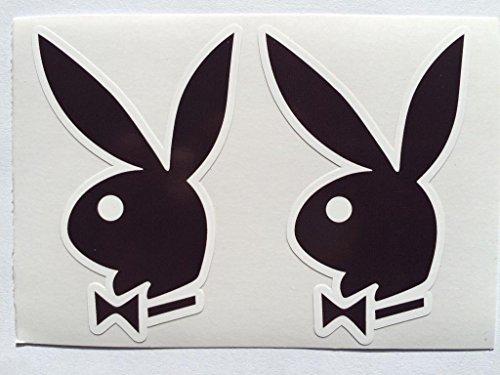 2 Playboy Bunny Ears Die Cut ()