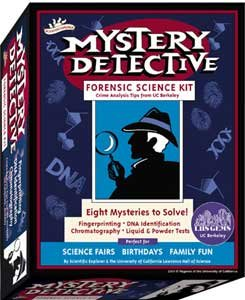 Scientific Explorer's Mystery Detective CSI for Kids Science Kit