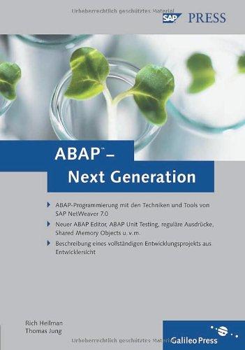 ABAP – Next Generation (SAP PRESS)
