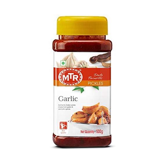 MTR Garlic Pickle, 500g