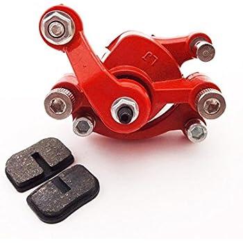 Amazon.com: tc-motor Rojo Trasera lado derecho Calibre Disco ...