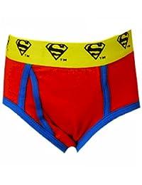 DC Comics Superman Red Logo Briefs for Little Boys