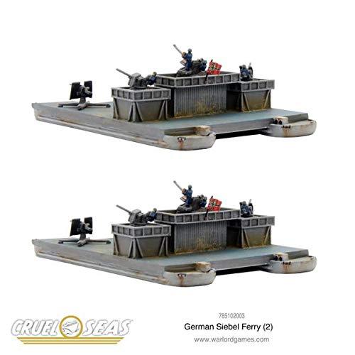 Cruel Seas Warlord Games, German Siebel Ferry (2)