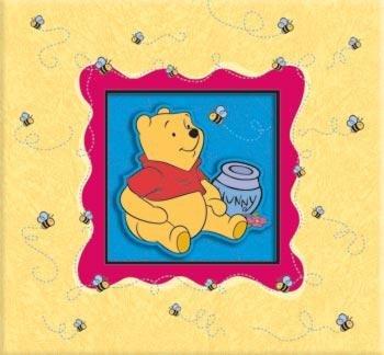 Walt Disney Deluxe Embossed, Post-Bound 12 by 12 Scrapbook Album: Winnie the Pooh -