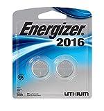 Energizer Watch/Electronic Batteries, 3 Volts, 2016, 2 batteries