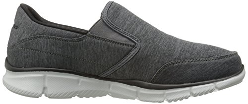 Herren Top Charcoal Low Skechers Black Grau Forward Equalizer Thinking gnznAqd