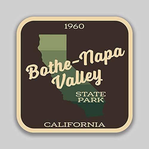 - JB Print Magnet Bothe Napa Valley State Park Sticker Explore Wanderlust Camping California Vinyl Decal Sticker Car Waterproof Car Decal Magnetic Bumper Sticker 5