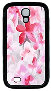 Samsung Galaxy S4 I9500 Cases & Covers -Scattered petals Custom TPU Soft Case Cover Protector for Samsung Galaxy S4 I9500¨CBlack