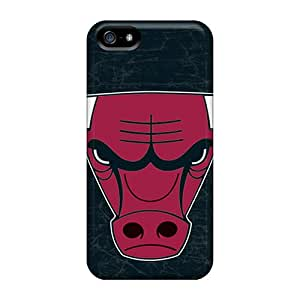 Tough Iphone SvM4452FIiI Case Cover/ Case For Iphone 5/5s(chicago Bulls)