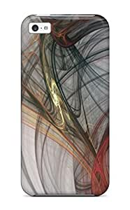 New Style JessicaBMcrae Abstract 3d Pack 12 Premium Tpu Cover Case For Iphone 5c
