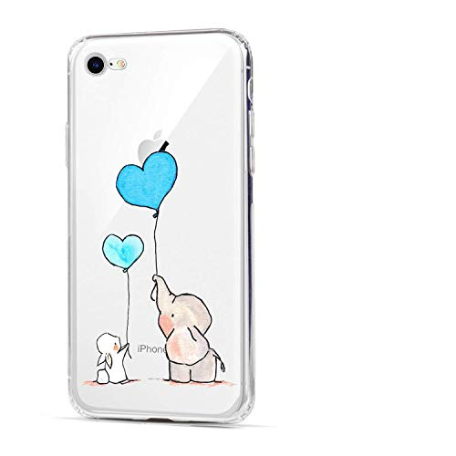 iPhone 6 Case,iPhone 6S Case, HUIYCUU Slim Fit Soft TPU Cover Amusing Cute Animal Design Protective Clear Thin Skin Gift Novelty Funny Pattern Bumper Back Case for iPhone 6 6S 4.7