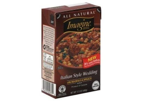 Meatballs Organic (Organic Italian Style Wedding Soup 17.30 Ounces (Case of 12))