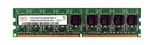 Module Memory 1gb Ddr2 (HYNIX 1GB PC2-6400 DDR2 ECC MEMORY MODULE HYMP512U72CP8-S6)