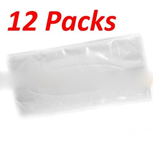 12 Packs Ultra Soft Facial Visor Nose Tissue 24 Ct Each Pack Refills For Tempo Car Visor Holder Tissue Layer 3 Size 8.5 X 4.5 Inch Brand (Club Tissue)