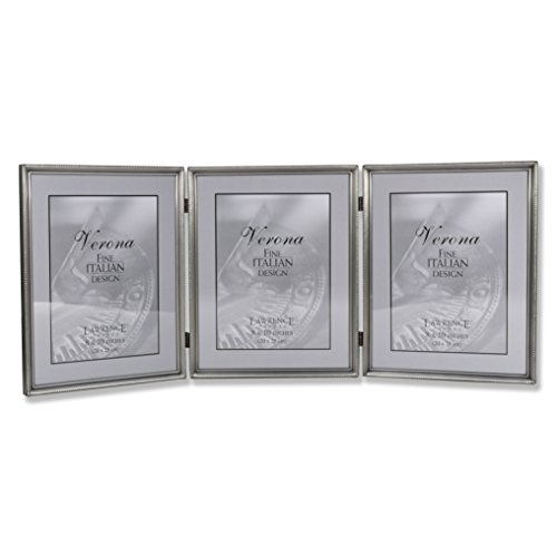 Lawrence Frames 11580T Brushed Pewter Bead Hinged
