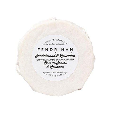(Fendrihan Shaving Soap for Men MADE IN GERMANY (Sandalwood & Lavender, 65 grams))